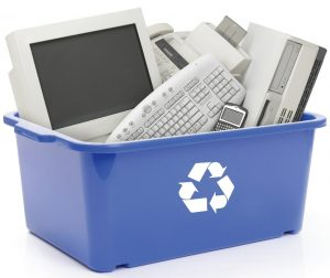How to Recycle Large Electronics